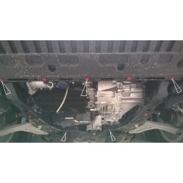 Scut motor Ford Mondeo (dupa 2015-)