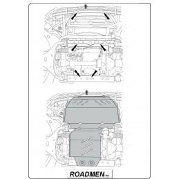 Scut Radiator+motor Ford Ranger (dupa 2011-)
